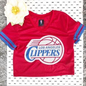 Tops - L.A. Clippers Crop Top